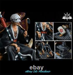 One Piece Trafalgar Law Statue Resin Op Studio Figure Gk Model Presale 1/6 35cm