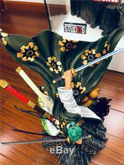 One Piece Zoro Roronoa Pays Wano Land De Wano Figure Gt Studio Réplique Statue