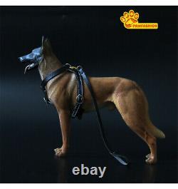 Pawfashion 1/6 Belgian Malinois Dog Pet Figurine Animal Modèle Cadeau De Jouet Collector
