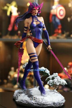 Psylocke Modèle En Résine Statue Peinte Échelle 1/4 Pré-commande Collection X-man Figure