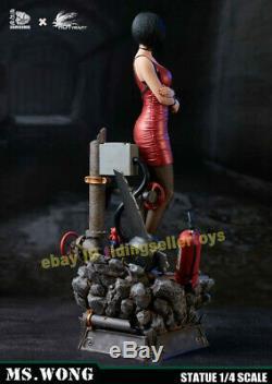 Resident Evil Ada Wong Modèle En Résine Peinte Statue 1/4 Échelle Ms. Wong 22''h