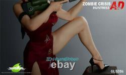 Resident Evil Ada Wong Résine Figure Modèle Green Leaf Gls 006 Replica Pré-commande