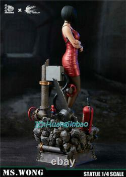 Résident Evil Ada Wong Résine Modèle Peint Statue 1/4 Échelle En Stock Hot Heart