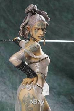 Rituel Luis Royo Fantasy Girl Sexy Hugh 1/4 Unpainted Figure Modèle Résine Kit