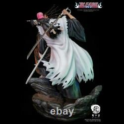 Ryu Studio Bleach Zaraki Kenpachi Statue Figurine En Résine Peinte Figure Gk Modèle