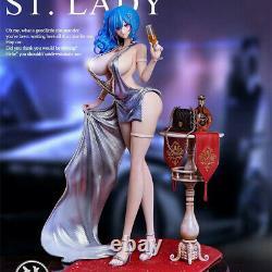 Ryu Studio St Dame Robe De Fête 1/6 Résine Figurine Modèle Statue Peinte Rouleau