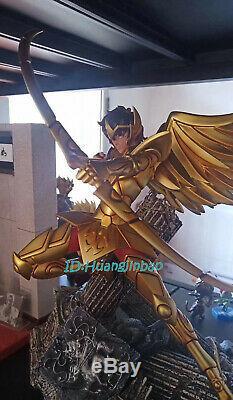 Saint Seiya Aiolos Résine Modèle Painted Statue D'or Saint Figure 45cmh En Stock