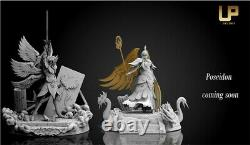 Saint Seiya Athena Statue Resin Gk Figure Collection Modèle Up Studio Pré-commande