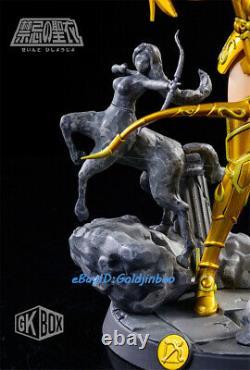 Saint Seiya Sagittaire Lion Statue Femme Sexy Girl Figure Résine Modèle Rabattre