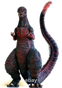 Shin Godzilla Roi Des Monstres Hugh Dinosaur Non Peint Figure Modèle De Résine Kit