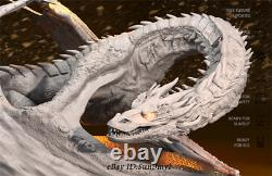 Smaug Dragon Kits De Résine Non Peinte Modèle Figure Gk Impression 3d 12.5cm 1/200