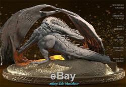 Smaug Dragon Unpainted Resine Modèle Figure Gk 3d Imprimer 12.5cm 1/200