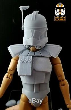 Star Wars Clone 1/6 Armure Arc Trooper Kit Pour Personnalisé Figure Sixième Modèle Échelle