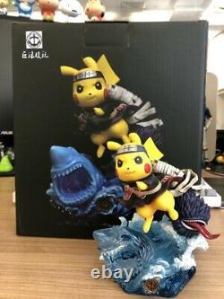 Surge Studio Naruto Pikachu Cos Kisame Gk Peint Modèle 13.5cm Figure Limitée