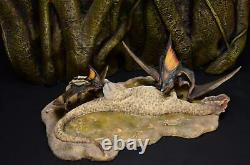 Tapejara Rob Allosaurus Scène Pterosaur Dinosaur Model Figure Collector Décor