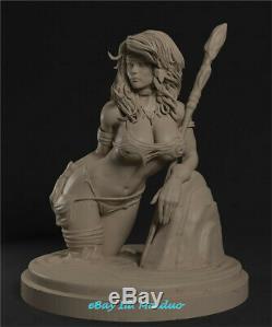 Tarzanide Unpainted Resine Modèle Gk Figure 3d Imprimer 20cm