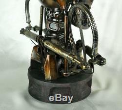 Terminator 2 T800 1/1 Life-size Bust Endoskeleton Modèle Figure Statue Résine Jouet