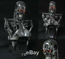 Terminator Jugement T2 Jour / T800 11 Life-size Bust Figure Statue Résine Modèle Jouet