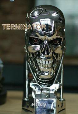 Terminator Salvation T800 1/1 Lifesize Skull Model Figure Statue Jouet Collectible