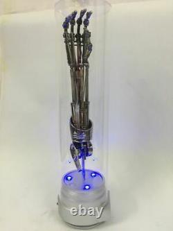 Terminator T2 T800 11 Grandeur Nature Endoskeleton Arm Model Chrome Figure Statue Jouet