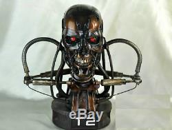 Terminator T2 T800 11 Life-size Bust Endoskeleton Figure Statue Résine Modèle Jouet