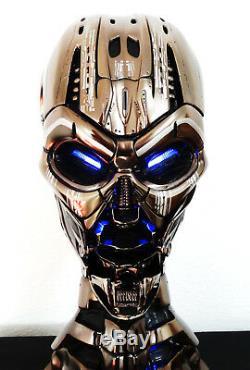 Terminator T3 11 Life-size Skull Endoskeleton Figure Statue Résine Modèle Réplique