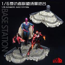 Toys-box 1/6 Figure Militaire Hottoys Dam 12 Avengers Platform Base Model Toys