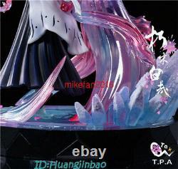 Tpa Bleach Kuchiki Byakuya Figure Résine Modèle Painted Statue Précommandez Led Lumière