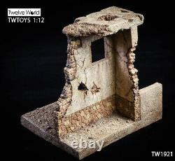 Twtoys 1/12 Tw1921 Afghanistan Scene Wall Model Platform Fit 6 Soldier Figure