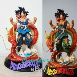 Ubu Son Goku Statue Résine Anime Dragon Ball 40cm / 16''h Figure Lu Studio Gk Modèle