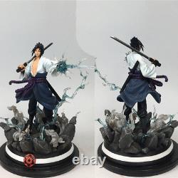 Uchiha Sasuke Figure De Résine Statue Peinte Modèle Naruto Figurine En Stock Hot New