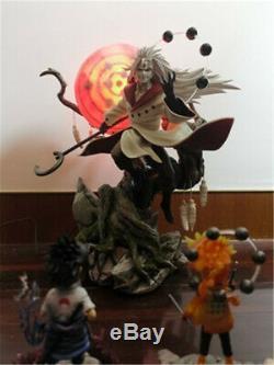 Uchiwa Madara Résine Figure Singularity Atelier Modèle 1/7 Peinte 15 ' ' En Stock
