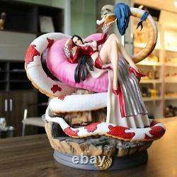 Une Pièce Boa Hancock Peint Modèle De Figure Résine Gk Statue Figurine New No Box