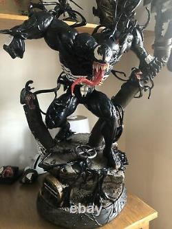 Venom 1/4 Ex Version Résine Statue Modèle Gk Figure Collection Jouets En Stock