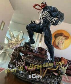 Venom 1/4 Ex Version Résine Statue Modèle Gk Figure Refonte Collection Jouets Nouveau