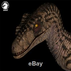 W-dragon 1/8 Femme Velociraptor Statue Raptor Dinosaur Figure Collector Jouets