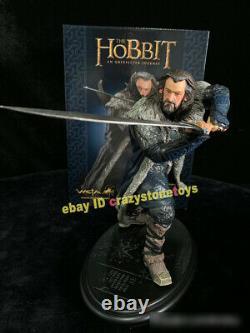 Weta Le Hobbit Thorin Oakenshield Le Seigneur Des Anneaux 1/6 Figure De La Statue Modèle