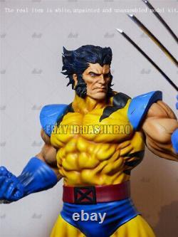 Wolverine Non Peint 1/6 Résine Figure 3d Modèle De Modèle D'impression Non Assemblé Gk H33cm