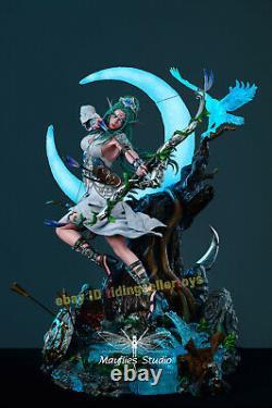 Wow Mayflies Studio Tyrande Whisperwind 1/4 Statue De Résine Modèle Led Light Nouveau