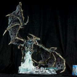 Wow Sindragosa Statue Dragons Frost Modèle Peint En Stock Collection Gk Figure
