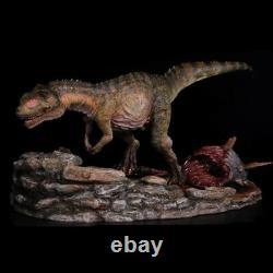 Yangchuanosaurus Hunting Statue Dinosaur Figure Animal Model Toy Collector Nanmu