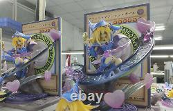 Yu-gi-oh Duel Monsters Black Magician Girl Statue Figures Modèle En Stock Nouveau