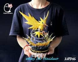 Zapdos Statue Model Gk Resin Figure Pokémon Collections Egg Studio Prévente 23cm