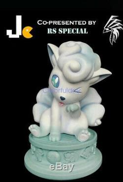 Zéro Tribe Société 1/1 Jc Glace Vulpix Spéciale Pokemon Modèle Figure Gk Statue