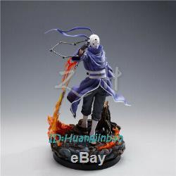 Zh Studio Uchiha Obito En Costume Violet Statue Résine Figure Modèle En Stock 15.7'